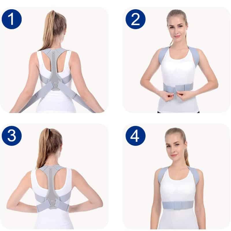 etapes utilisation correcteur posture