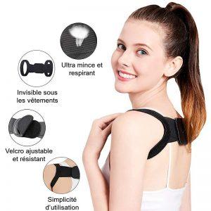 avantages correcteur posture femme