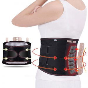 Ceinture lombaire orthopédique pour maintenir un dos droit et soulager les douleurs dorsales