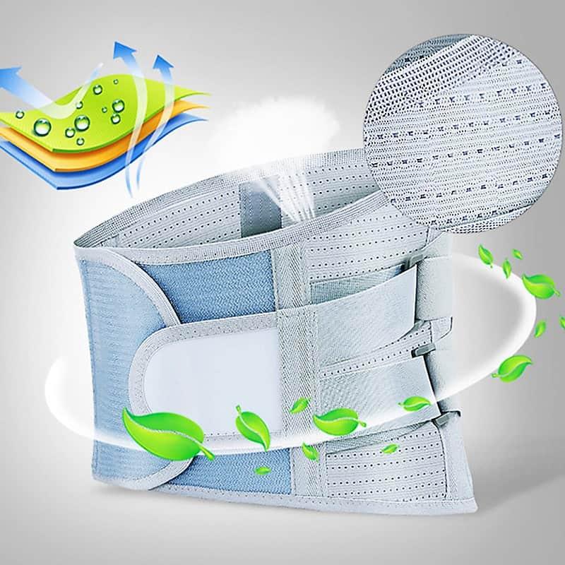 ceinture lombaire respirante lavage facile