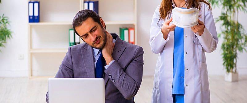 douleurs cervicales cervicalgie
