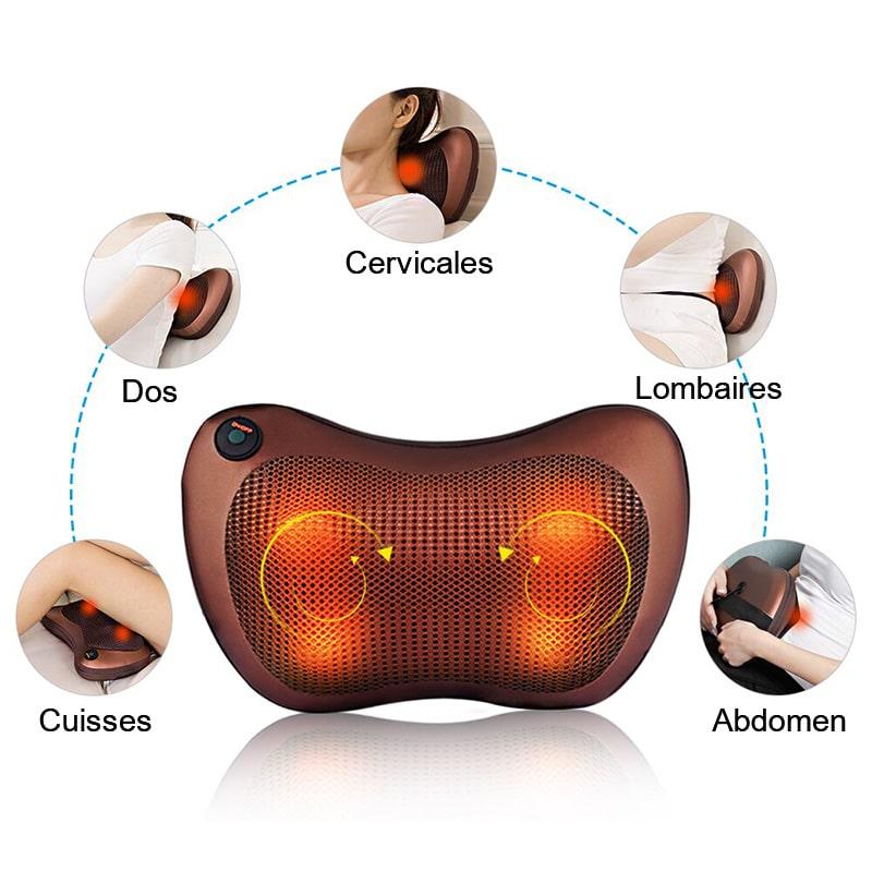 Fonctions du coussin massant cervicales