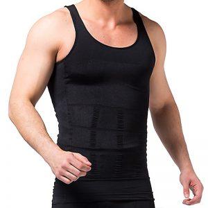 T-shirt redresse dos coloris noir pour homme
