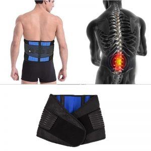 Ceinture lombaire de soutien pour les maux de dos et les douleurs lombaires
