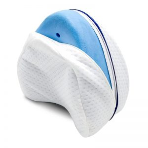 Coussin genoux avec mousse bleue