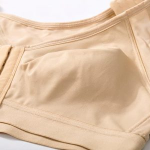 soutien gorge redresse dos finition taupe