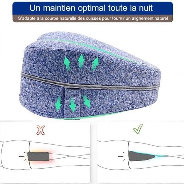 coussin orthopedique pour genoux maintien optimal