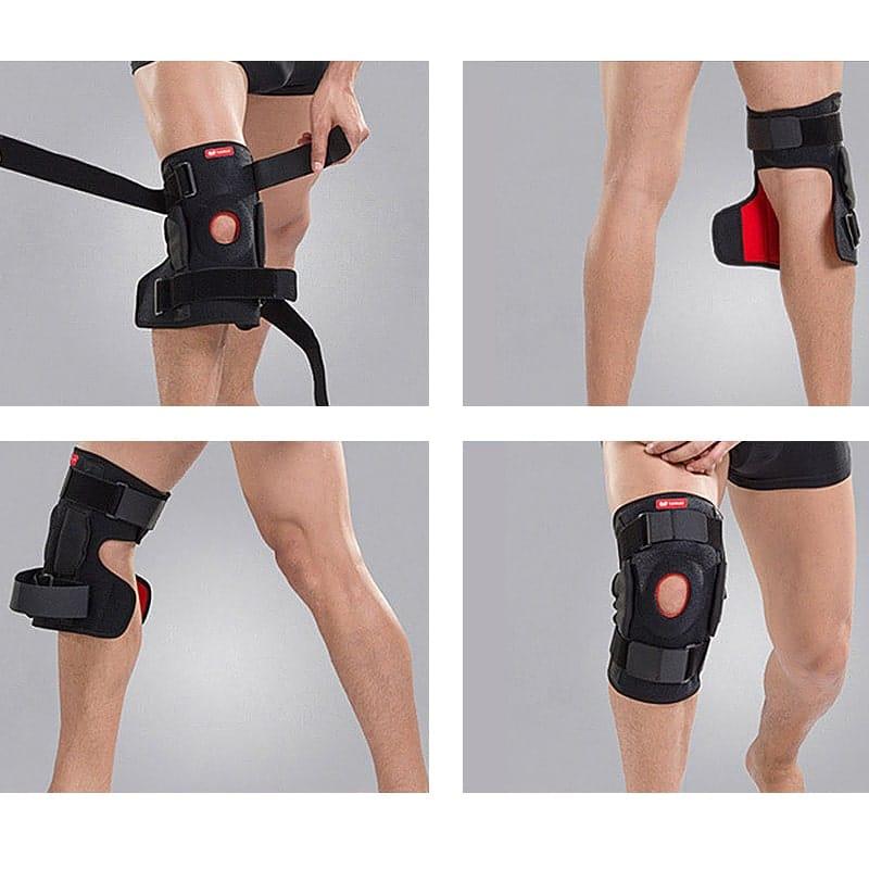 etapes utilisation attelle genou articulee
