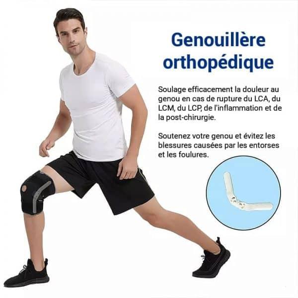 genouillere orthopedique blessures entorses