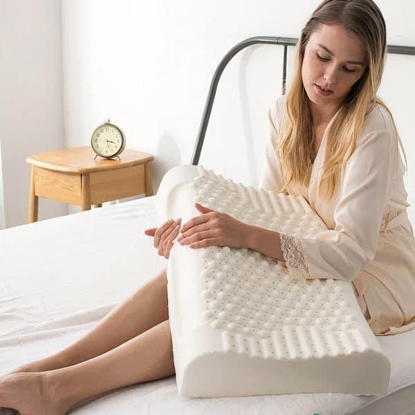 oreiller medical cervical femme