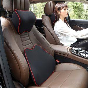 Coussin lombaire pour fauteuil passager ou conducteur d'une voiture
