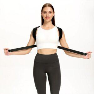Correcteur de posture dos ajustable et reglable