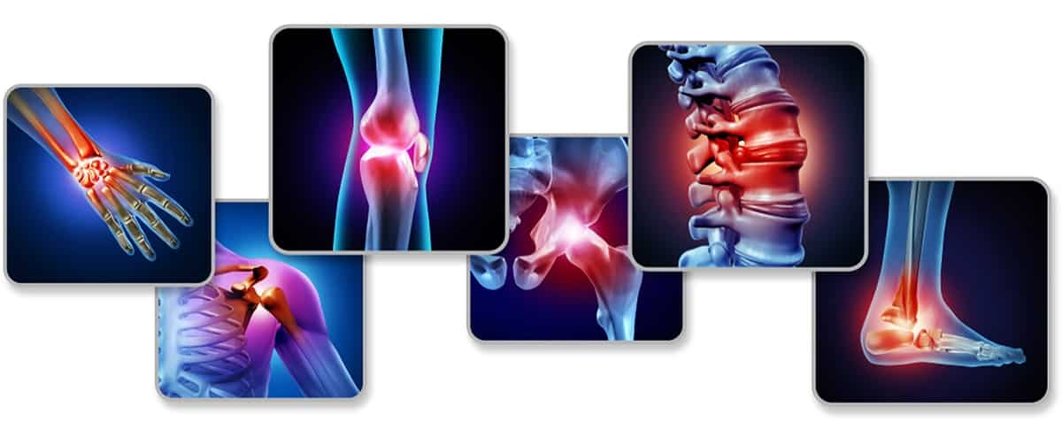 Les differentes douleurs articulaires dans le corps