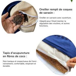 Caracteristiques du tapis dacupuncture