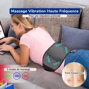Ceinture chauffante par vibration haute fréquence