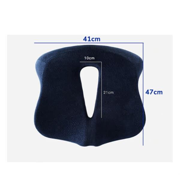 Dimensions du coussin ergonomique assise