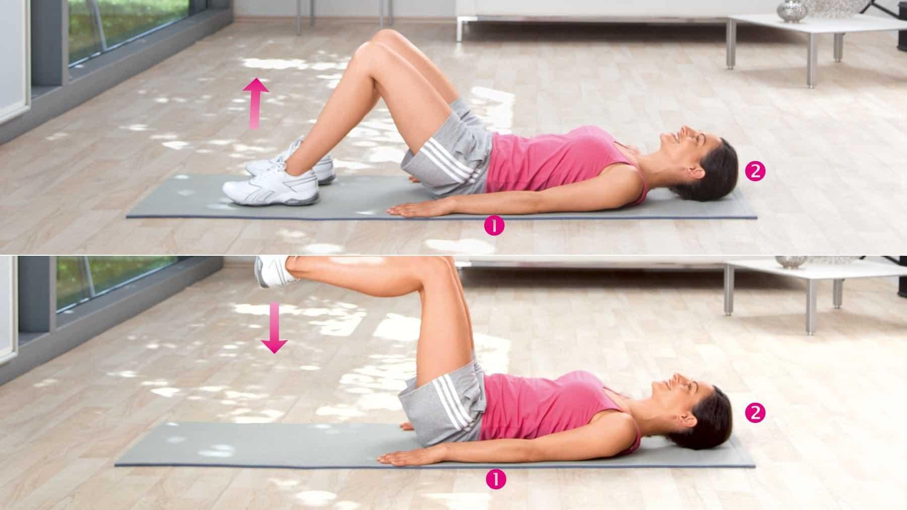 Entraînement des muscles abdominaux et de la hanche