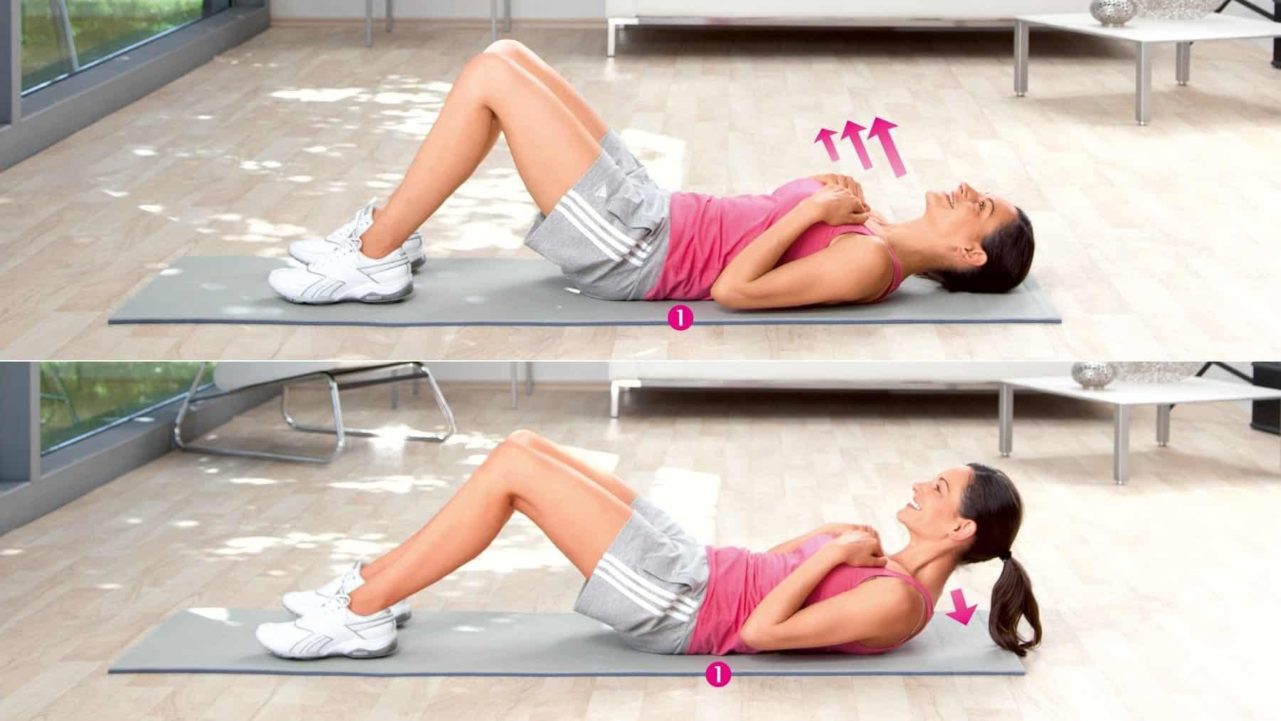 Entraînement des muscles abdominaux