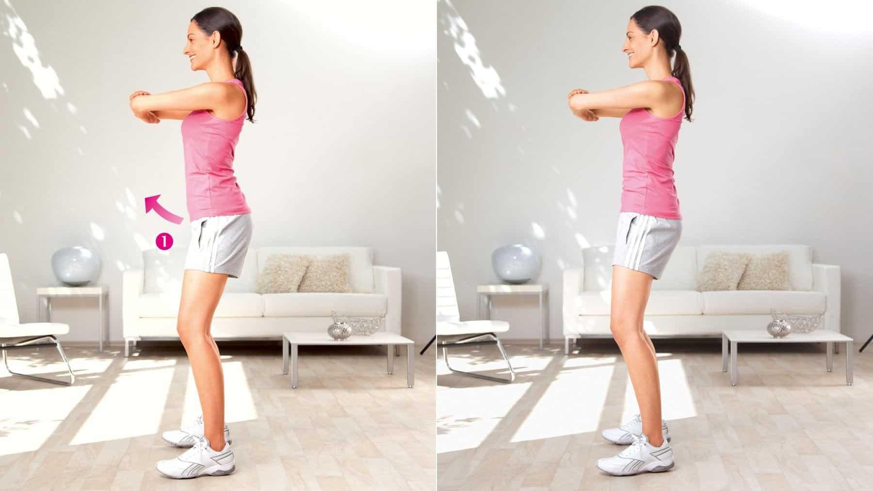 Étirement de l'aine et de la hanche