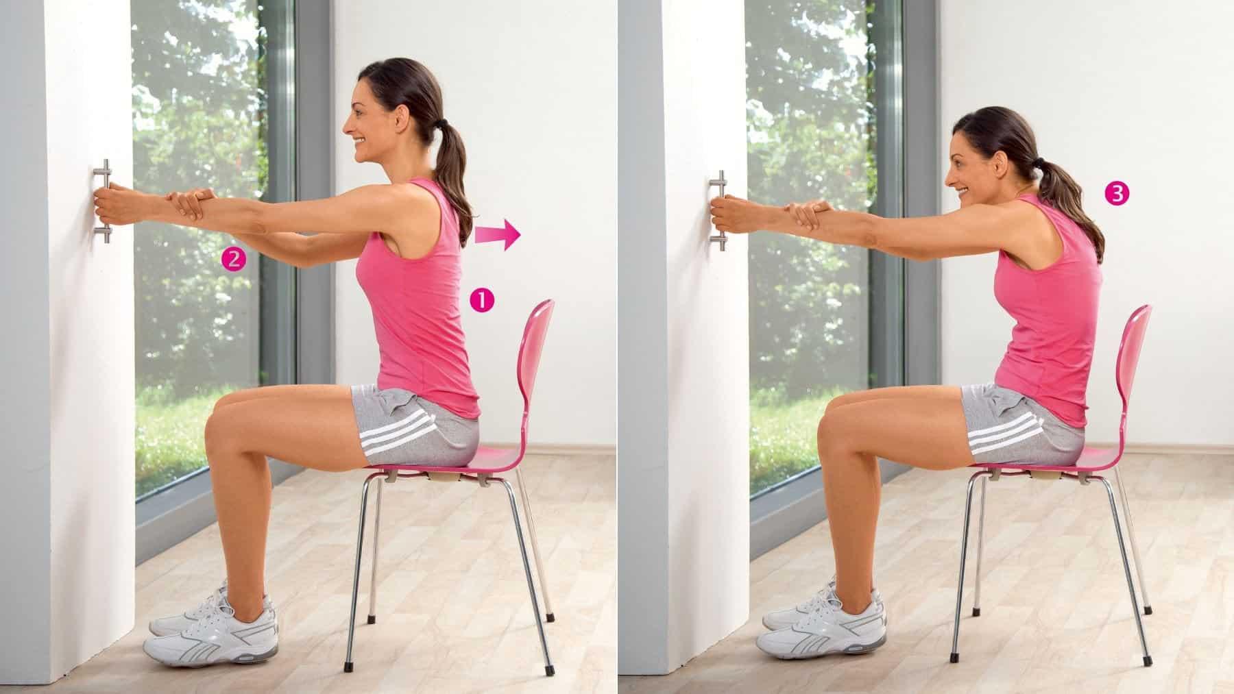 Étirement des muscles de la ceinture scapulaire