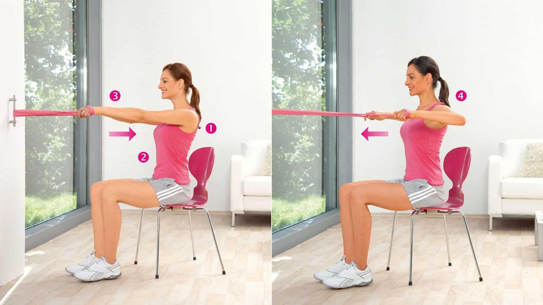 Mouvement des epaules exercice pour entrainer les muscles de la ceinture scapulaire