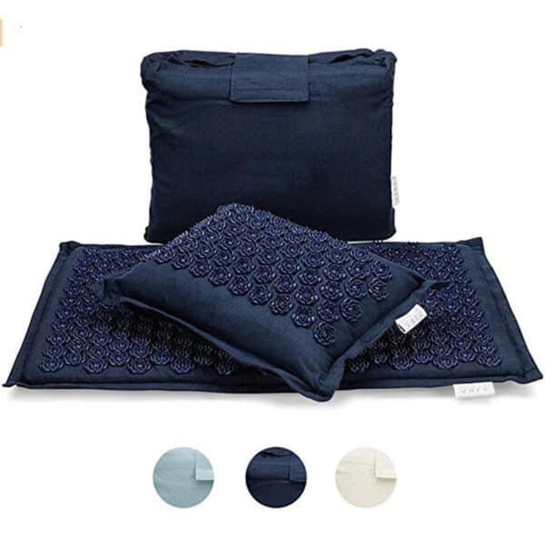 Tapis d'acupuncture bleu nuit