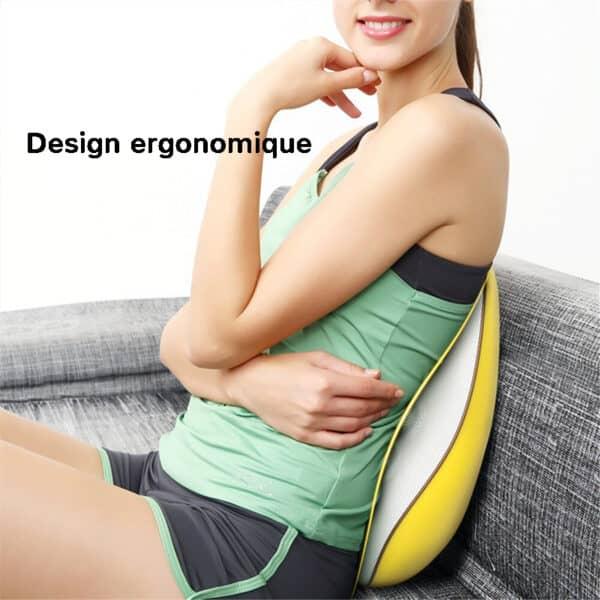 Appareil de massage dos au design ergonomique