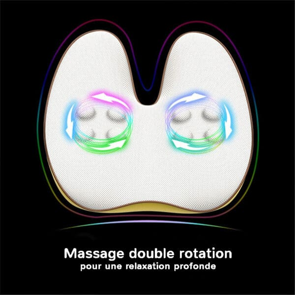 Appareil de massage dos pour une relaxation profonde