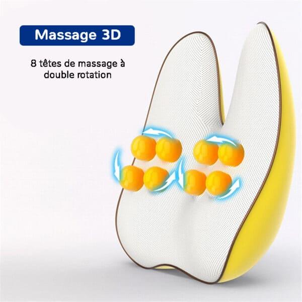 Appareil de massage pour le dos innovant