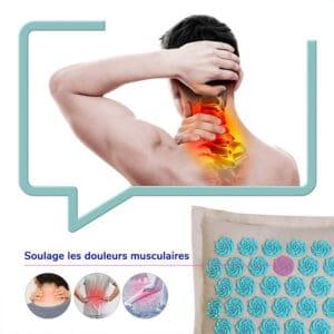 Coussin dacupression pour soulager les douleurs musculaires