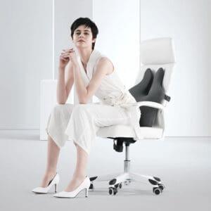 Coussin ergonomique avec soutien lombaire