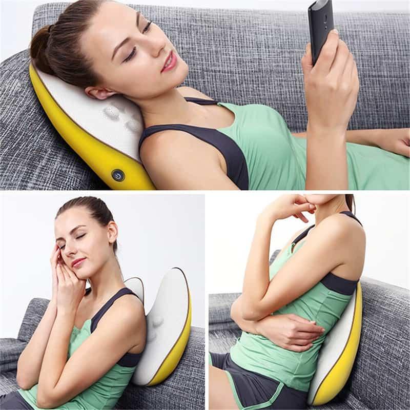 Utilisations possibles de lappareil de massage dos