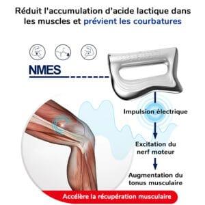 Appareil de massage vibrant pour la recuperation musculaire