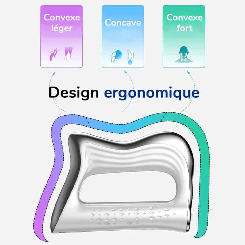 Design ergonomique de l'appareil massant à micro vibration